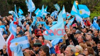 Los testimonios de quienes asistieron al acto de Mauricio Macri en Paraná