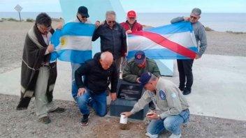 Veteranos entrerrianos rindieron un homenaje a los caídos en Malvinas
