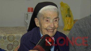 La Hermana Teófila cumplió 99 años: