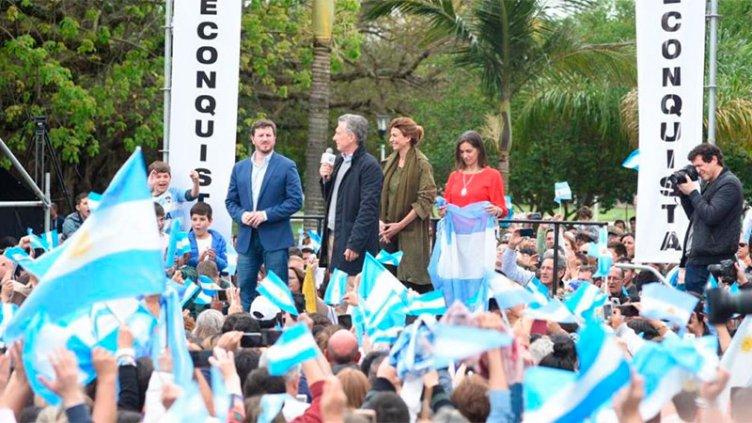 Macri encabezó dos marchas: