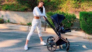 ¿Retocó las fotos?: Eva De Dominici exhibió sus  curvas tras el parto