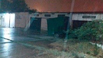 Incendiaron intencionalmente un carribar en la zona del Puerto de Paraná