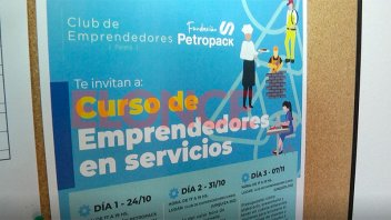 Invitan a inscribirse a curso de Emprendedores de Servicios
