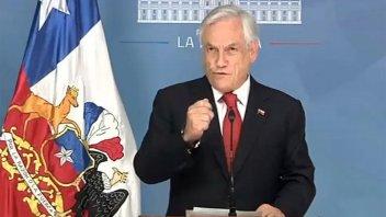 Piñera anunció