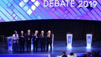 El segundo debate presidencial tuvo picos de 32,4 puntos de rating
