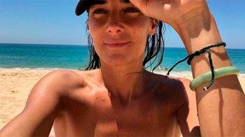 Juana Viale sorprendió a sus seguidores con un topless al aire libre