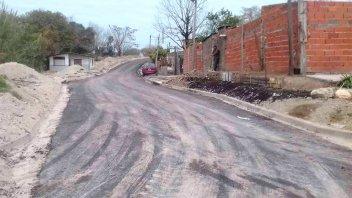 Promeba: Se pavimentaron más de 2.800 metros de red vial en tres barrios