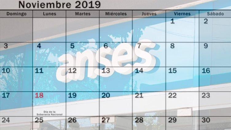 Cronogramas de noviembre para jubilaciones, AUH y otros beneficios de Anses