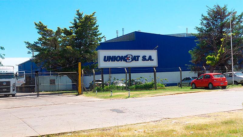 La empresa Uniónbat que opera en el Parque Industrial de Gualeguaychú