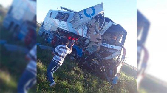 Tras fatal accidente, quedó en libertad el chofer del micro paraguayo