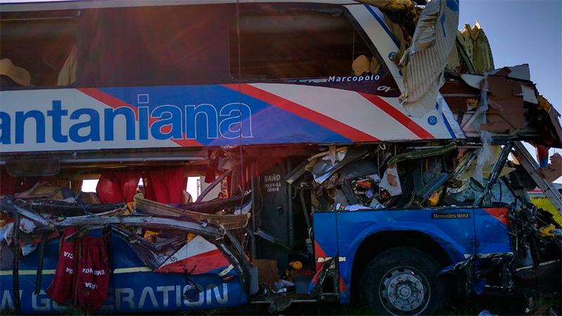 Tragedia del micro en la ruta: El estado de los heridos que siguen internados