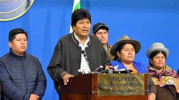 Evo Morales denunció que hay