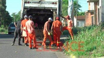 Se demora la normalización de la recolección de residuos en la ciudad