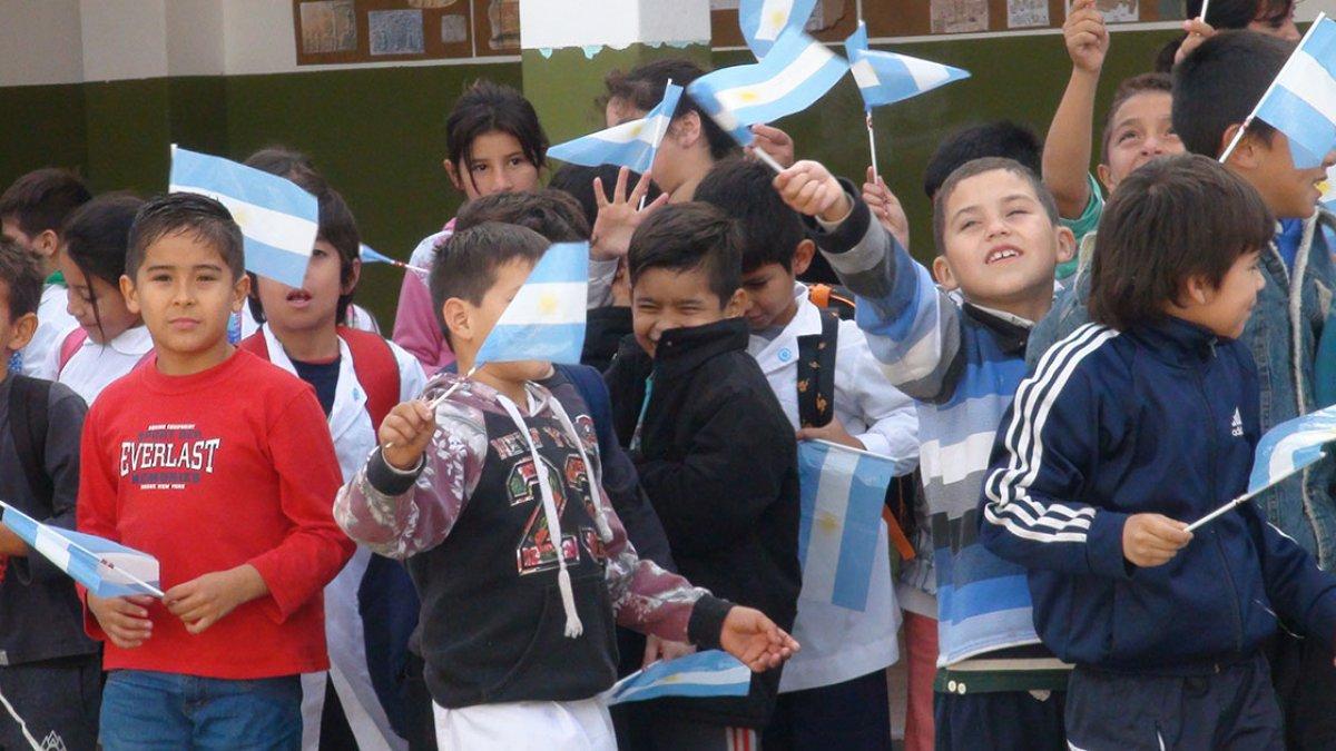 """Chicos de la escuela Nº96 """"José Manuel Estrada"""""""
