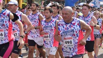 Con más de 3000 participantes, se corrió la maratón del Becario