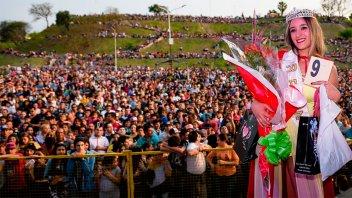 Una multitud vivió a puro ritmo la Fiesta de la Primavera en Paraná