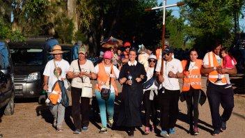 Renovada muestra de fe en la 35º de la Peregrinación de Los Pueblos