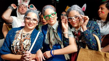 Re manija: Más fotos de la Fiesta de Disfraces