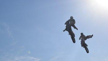 Los Navarro más cerca del Sol: Mostraron sus acrobacias en Once por Todos