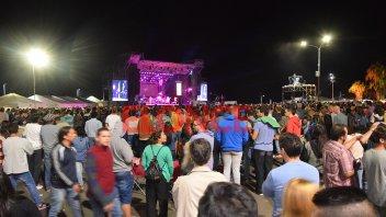 La Fiesta Nacional del Mate cerró con plaza y barrancas colmadas: Las fotos