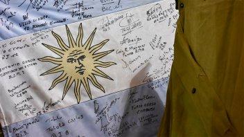 La muestra de Malvinas se puede visitar en la Casa de la Costa de Paraná