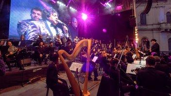 Los Palmeras Sinfónico: Multitudinario show en Paraná