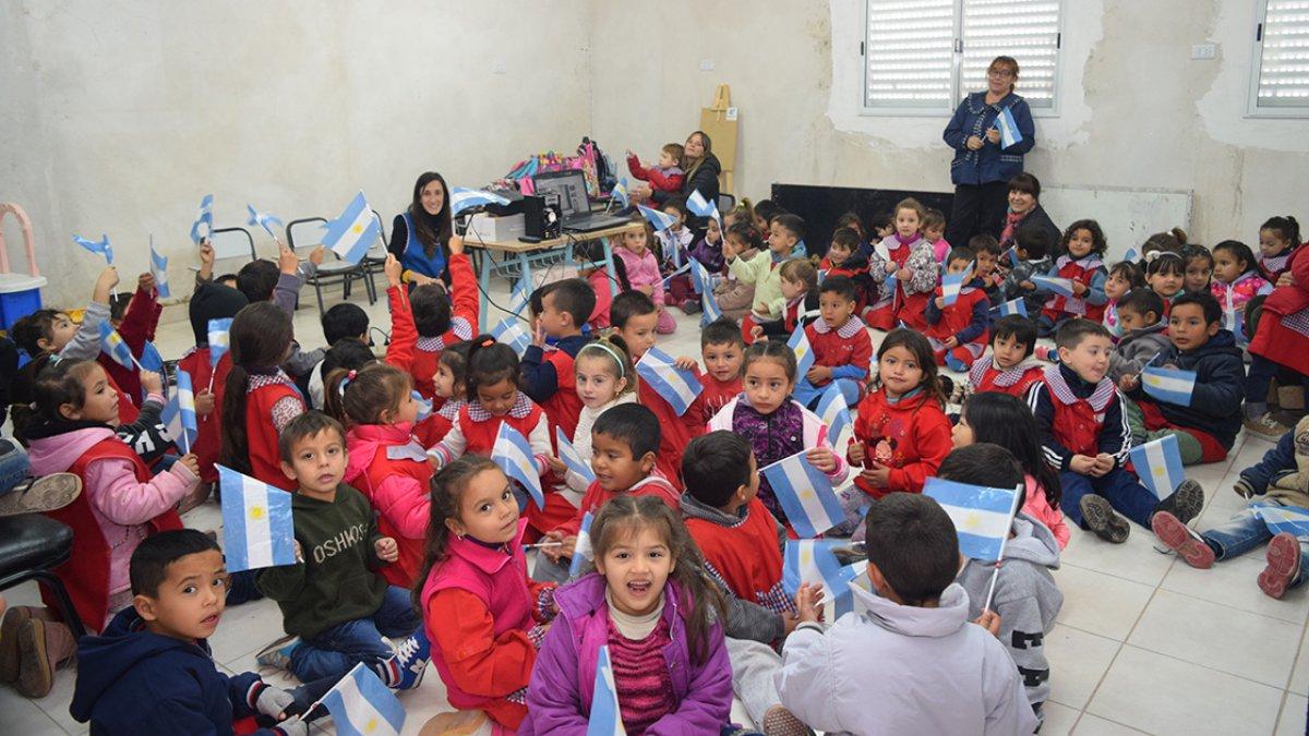 """Jardín """"Soldaditos"""" de la escuela Nº 200 Soldados de Malvinas"""