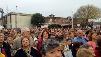 San Cayetano: Una multitud celebró en Paraná al Santo del Pan y del Trabajo