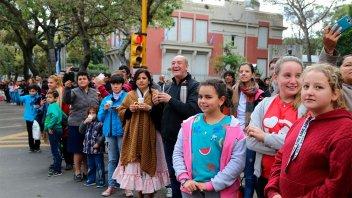 Imágenes del tradicional desfile por el 25 de Mayo en Paraná