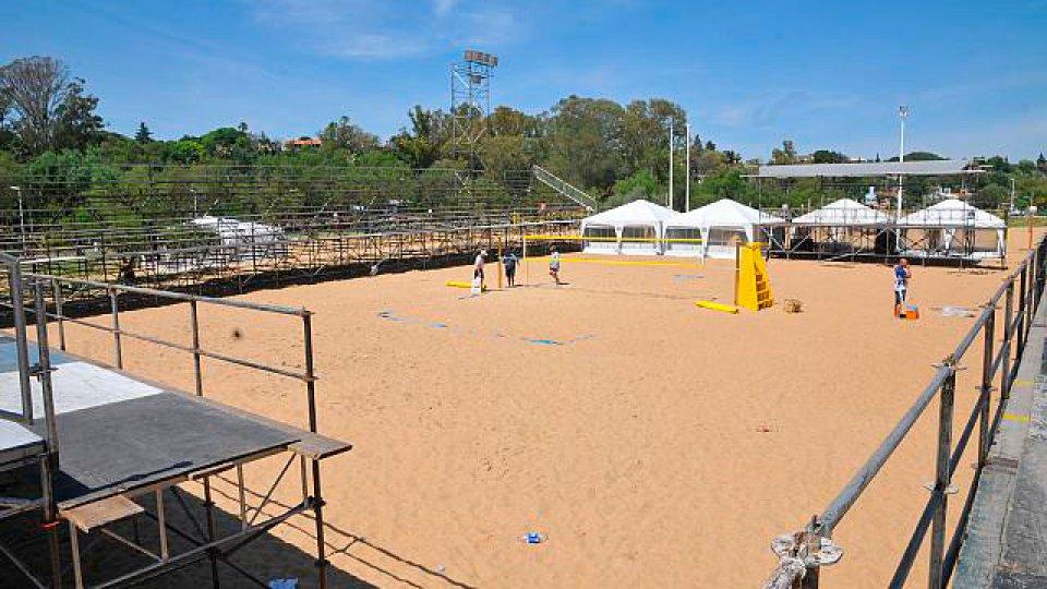 El Balneario Thompson recibe la máxima fiesta del vóley de arena.