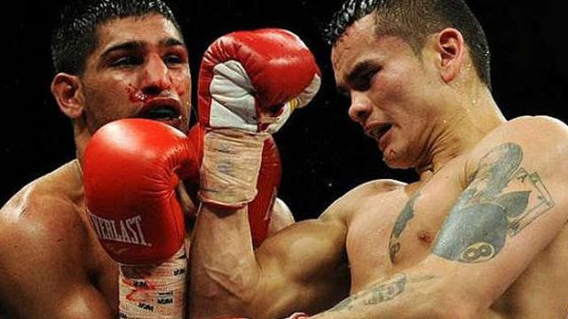 El argentino sueña en grande en su regreso al boxeo.