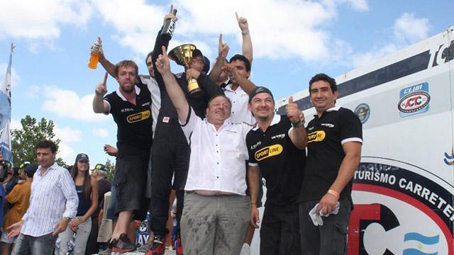 Vivot cambió de equipo y correrá en el TC Mouras.