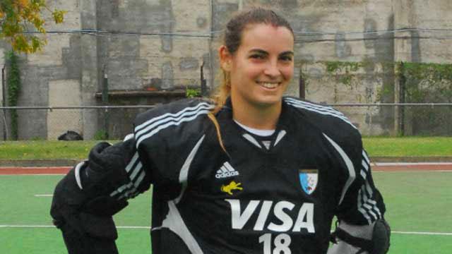 La paranaense Mutio fue convocada a Las Leonas para disputar en Mundial