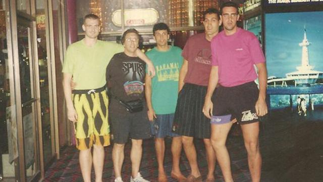 Foto Pablo Cabial: Emblemáticos jugadores, entre ellos, Cortijo y Uranga