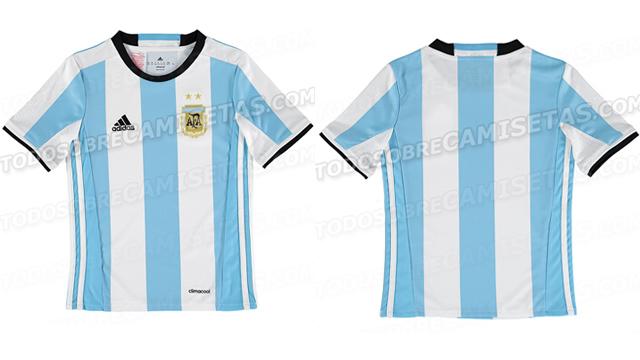 a39796307b La nueva camiseta de Selección Argentina para la Copa América ...