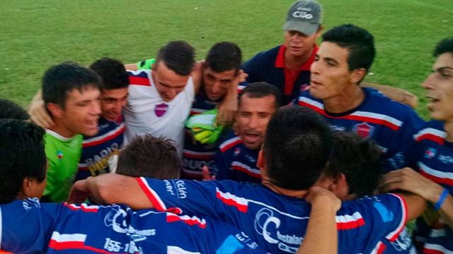 Ciclón empató con Sportivo Urquiza.