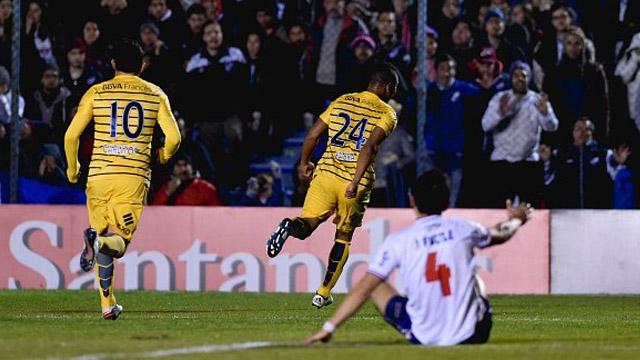 El colombiano Frank Fabra abrió el marcador para el Xeneize.