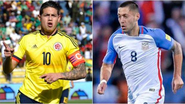 Estados Unidos y Colombia dan inicio a la Copa América Centenario
