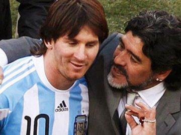 El saludo de Diego Maradona a Lionel Messi en su cumpleaños