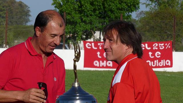 ARCHIVO: Ramón Salduendo junto a Cristian Guaita.