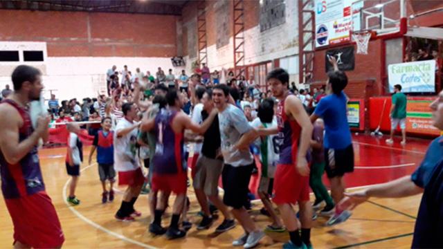 El CAO festejó ante Talleres. (Foto: @OlimpiaParana)