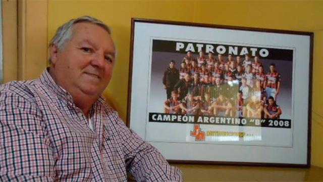 Hollman será reelecto presidente de Patronato.