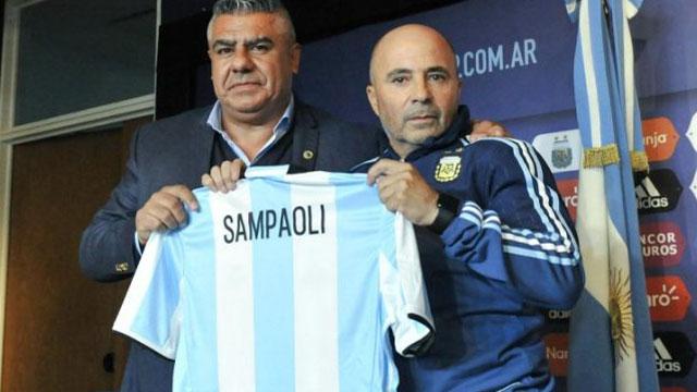 Claudio Tapia confesó que Sampaoli era el plan B para la Selección.