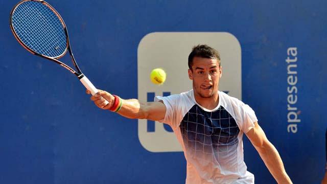 Nico no pudo ante un difícil rival como Anderson N° 9 del Ranking ATP.