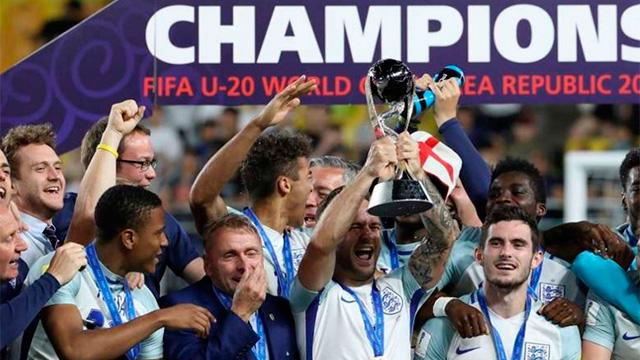 Inglaterra derrotó a Venezuela y es campeón del mundo sub-20.