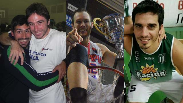 Campeones de todas las costas: Monti-Hauscarriague-Almeida y Villagra.
