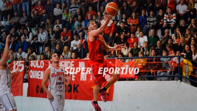 Cristian Godoy, una de las figuras de la Liga Provincial 2017.