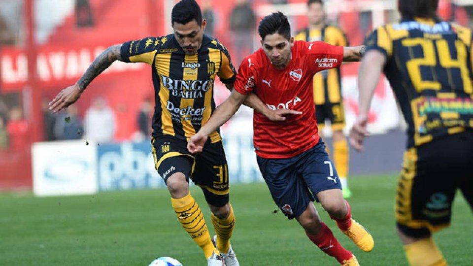 El Rojo igualó 1-1 con los bahienses en Avellaneda.