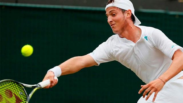 Alex es el noveno tenista argentino en la historia en alcázar en puesto uno.
