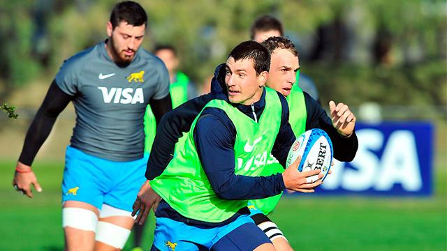 Con entrerrianos, Los Pumas enfrentan a Sudáfrica en su debut en el Rugby Championship